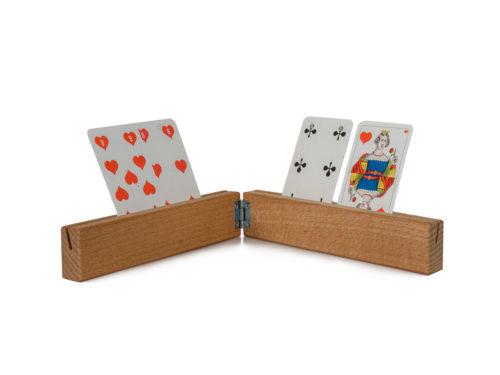 Support cartes à jouer avec charnière
