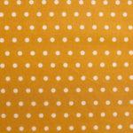 Téflon points (jaune moutarde-blanc)