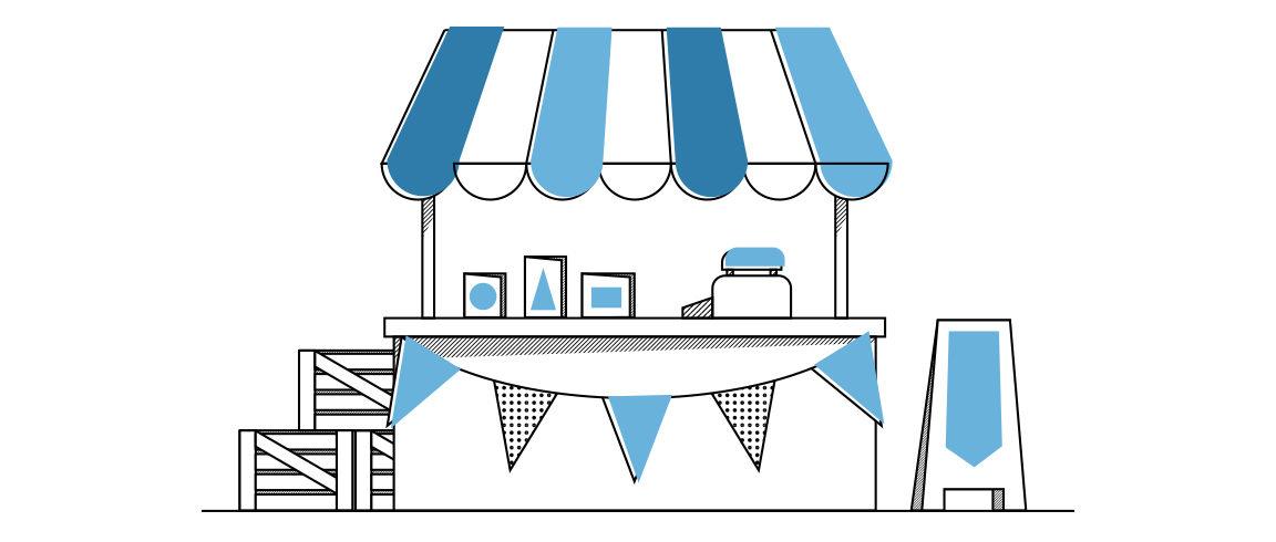 Illustration de la boutique en ligne de l'Association St Camille