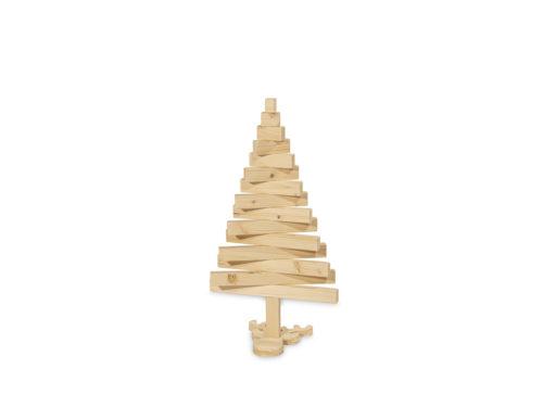 Sapin 3d en bois pied en forme de renne